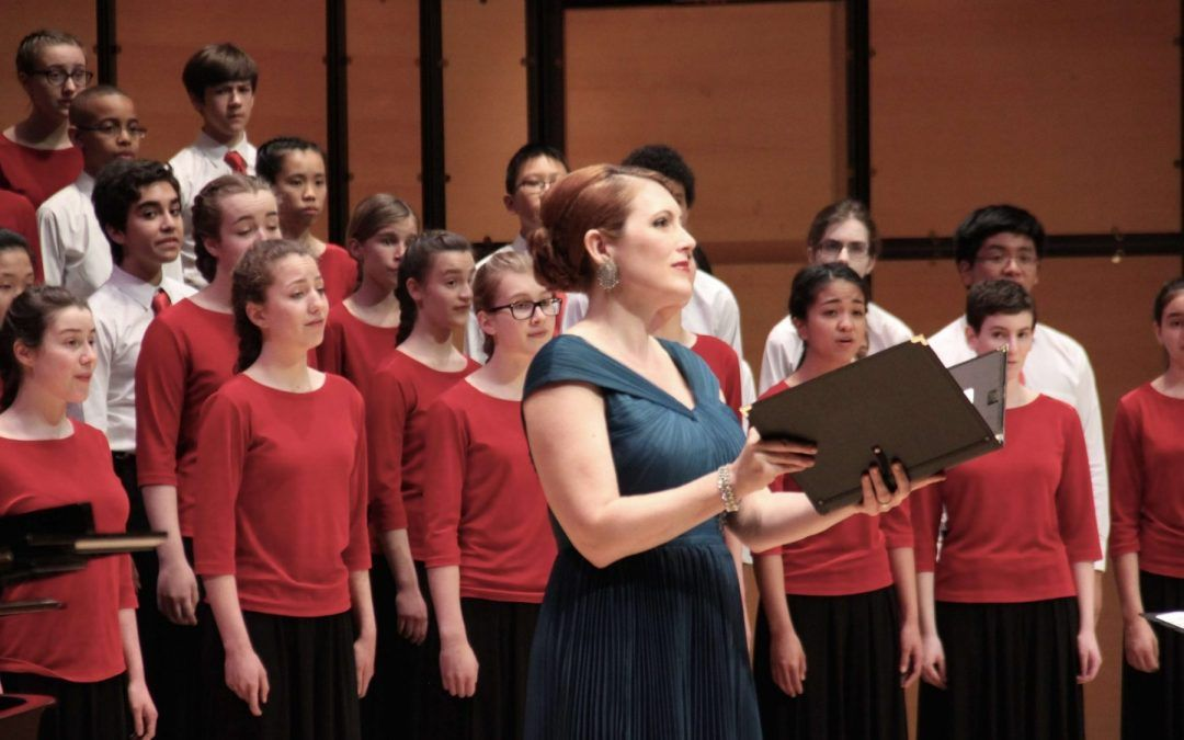 Opera Star Krisztina Szabó Performs with the Toronto Children's Chorus